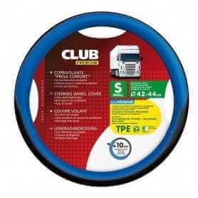 Club, coprivolante presa confort in TPE - Blu
