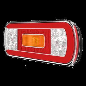Fanale posteriore full led 12/24v sinistro