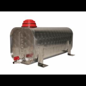 Tanica acqua acciaio inox 12 lt camion - rimorchio con piedini