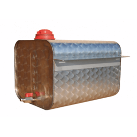 Tanica acqua acciaio inox 25 lt camion - rimorchio laterale