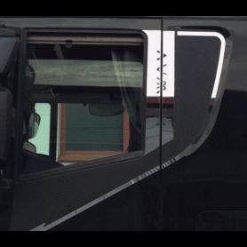 Piantoni portiera inox stralis hi - way