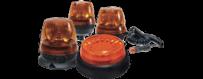 Flashing lights - LED swivels for trucks - tractors