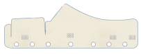 Dashboard cover Daf XF 106